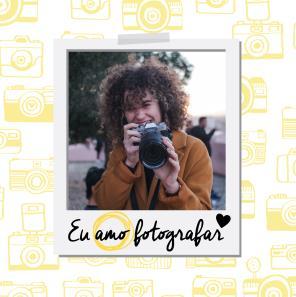 Eu amo fotografia